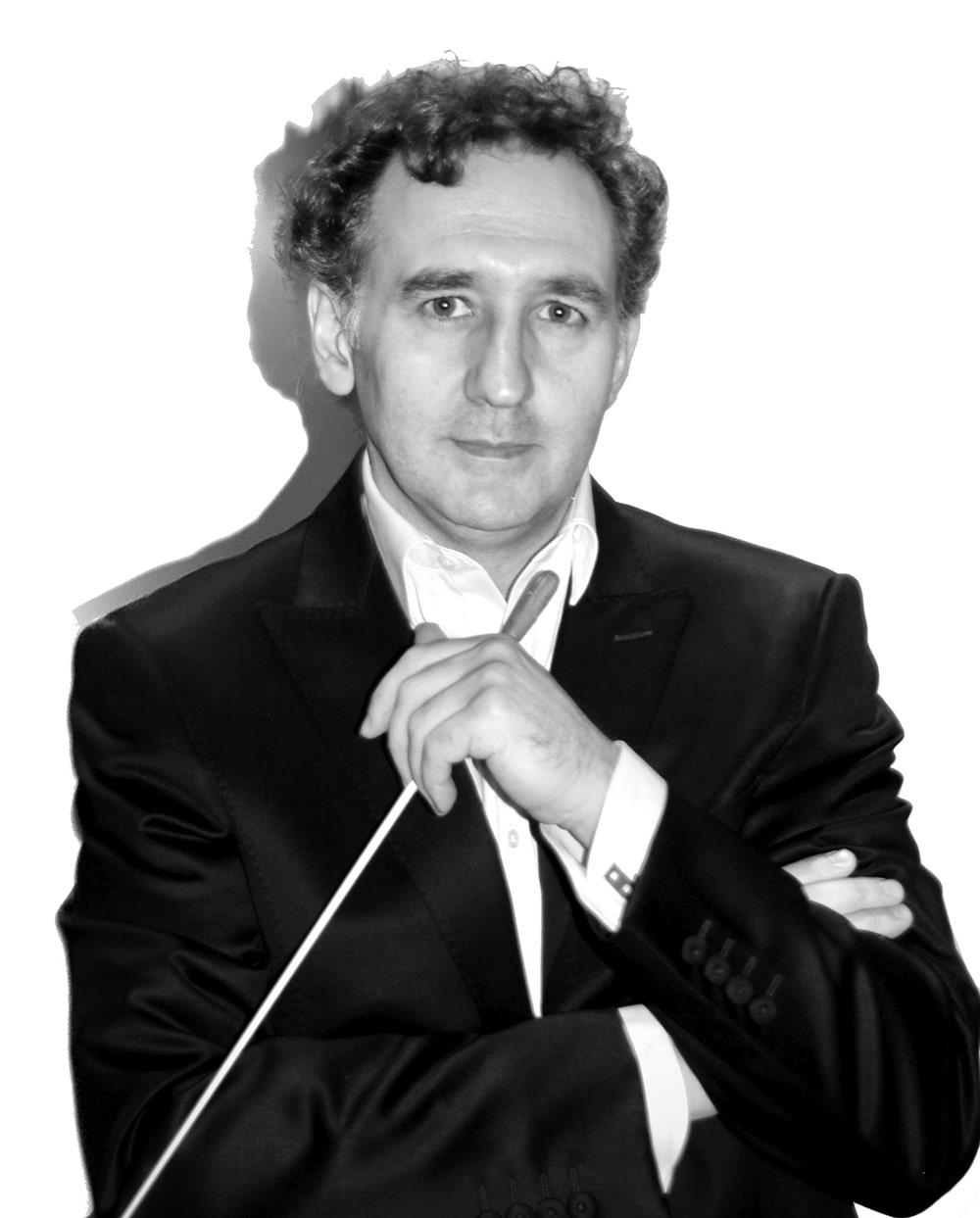 Director de orquesta imagen frontal